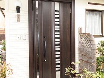 岡山、香川、創拓、玄関、ドア