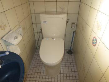 岡山市 N様邸 トイレ取替