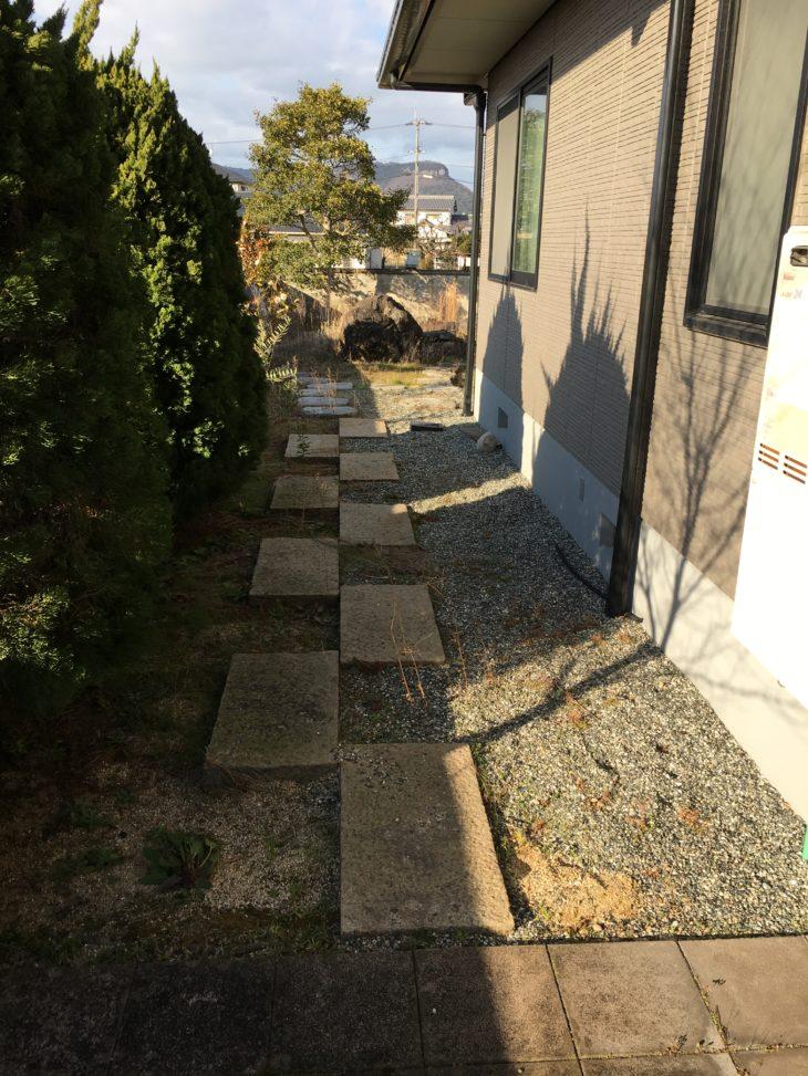岡山、香川、創拓、家、住宅、リフォーム、庭、砂利、防草、除草、草刈り、安全、段差、リノベーション、修繕、修理、改築、改装、新築、中古、
