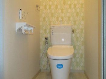 岡山市 アパートオーナー様 トイレリフォーム施工事例