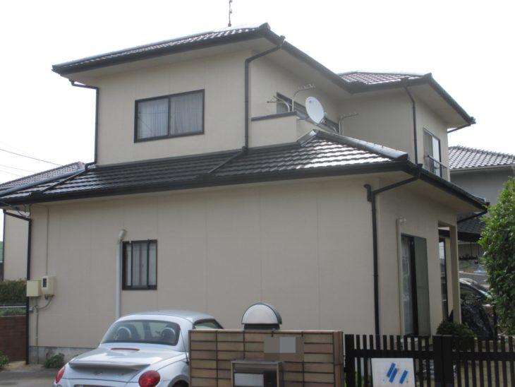 岡山市 T様邸 外壁塗装