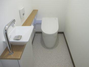 備前市で2つのトイレをTOTO ネオレストにリフォーム