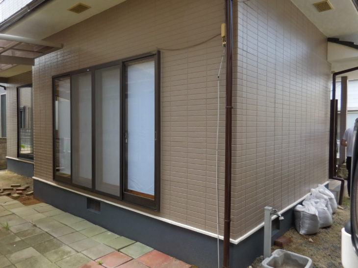 岡山市 A様邸 外壁塗装