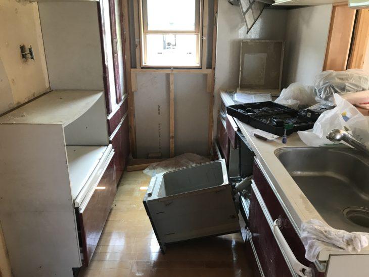 倉敷市 豪雨災害 浸水被害 キッチンリフォーム