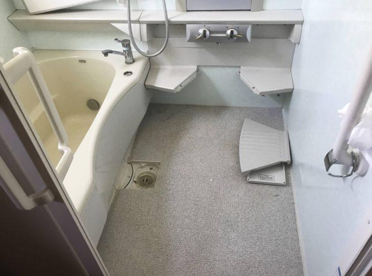 岡山県倉敷市真備町,豪雨災害復旧工事,リフォーム,浴室