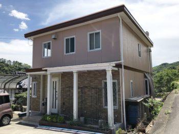 岡山県美作市 H様邸 外部塗装施工事例