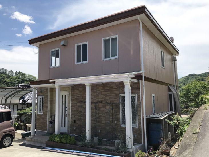 美作市,屋根,外壁塗装
