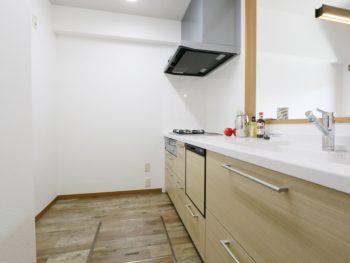 岡山市中区 I様邸 中古マンション キッチンリフォーム施工事例